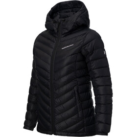 Peak Performance W's Frost Down Hooded Jacket Black